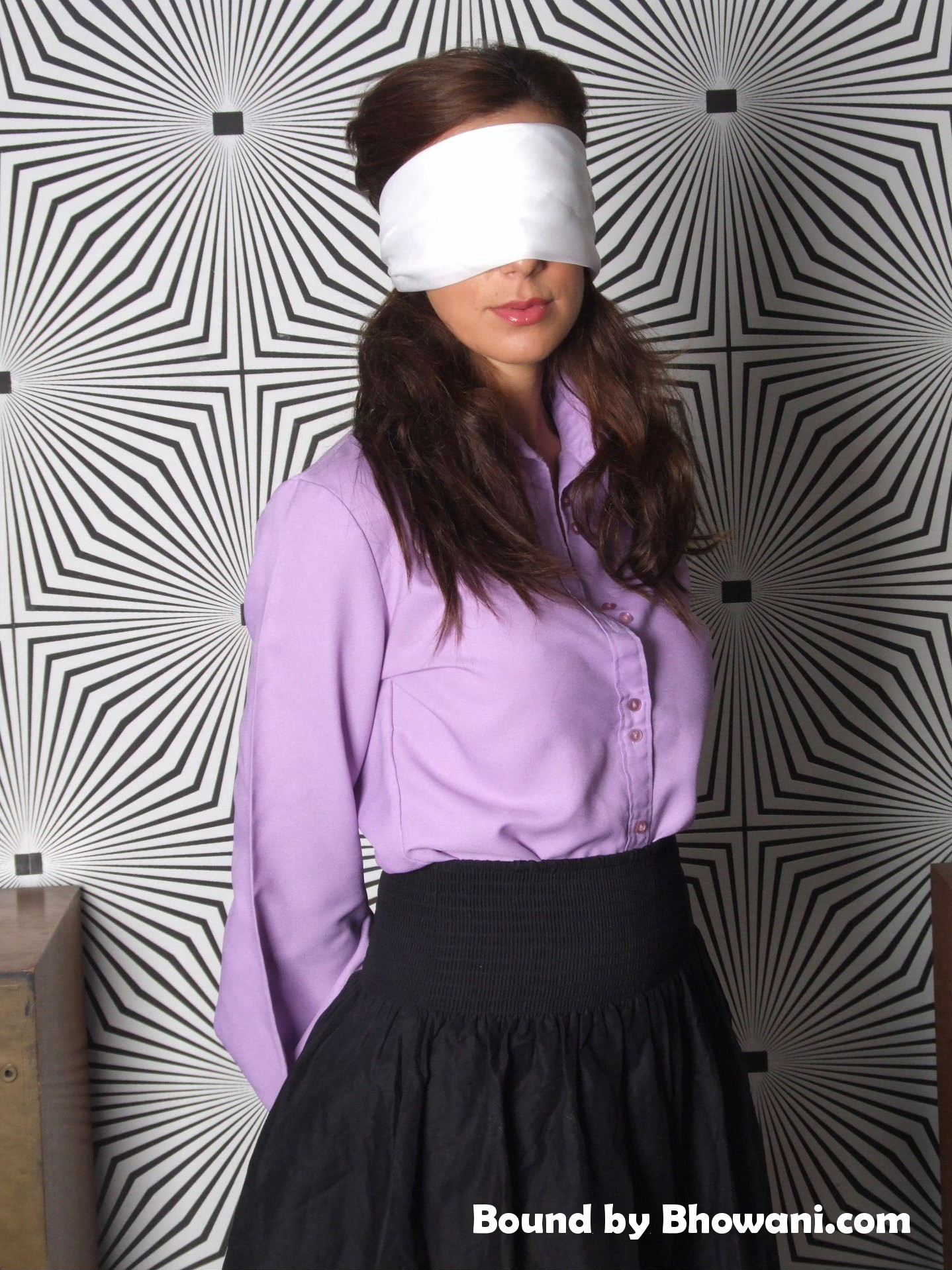 Blindfolded Chrissy