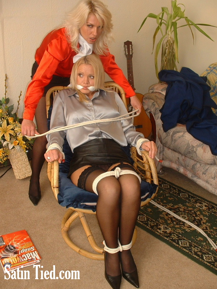 Satin Tied: Flatmates Fall Out 2
