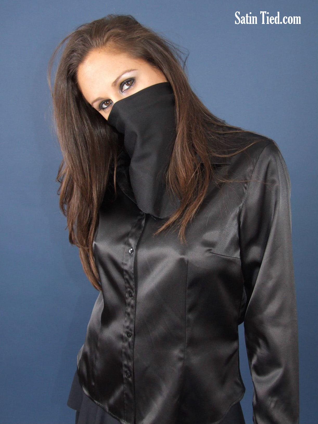 Satin Tied: Masked Ila