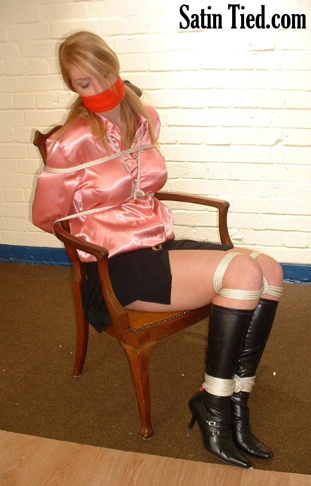 Satin Tied: Fi's Bondage Chair 2