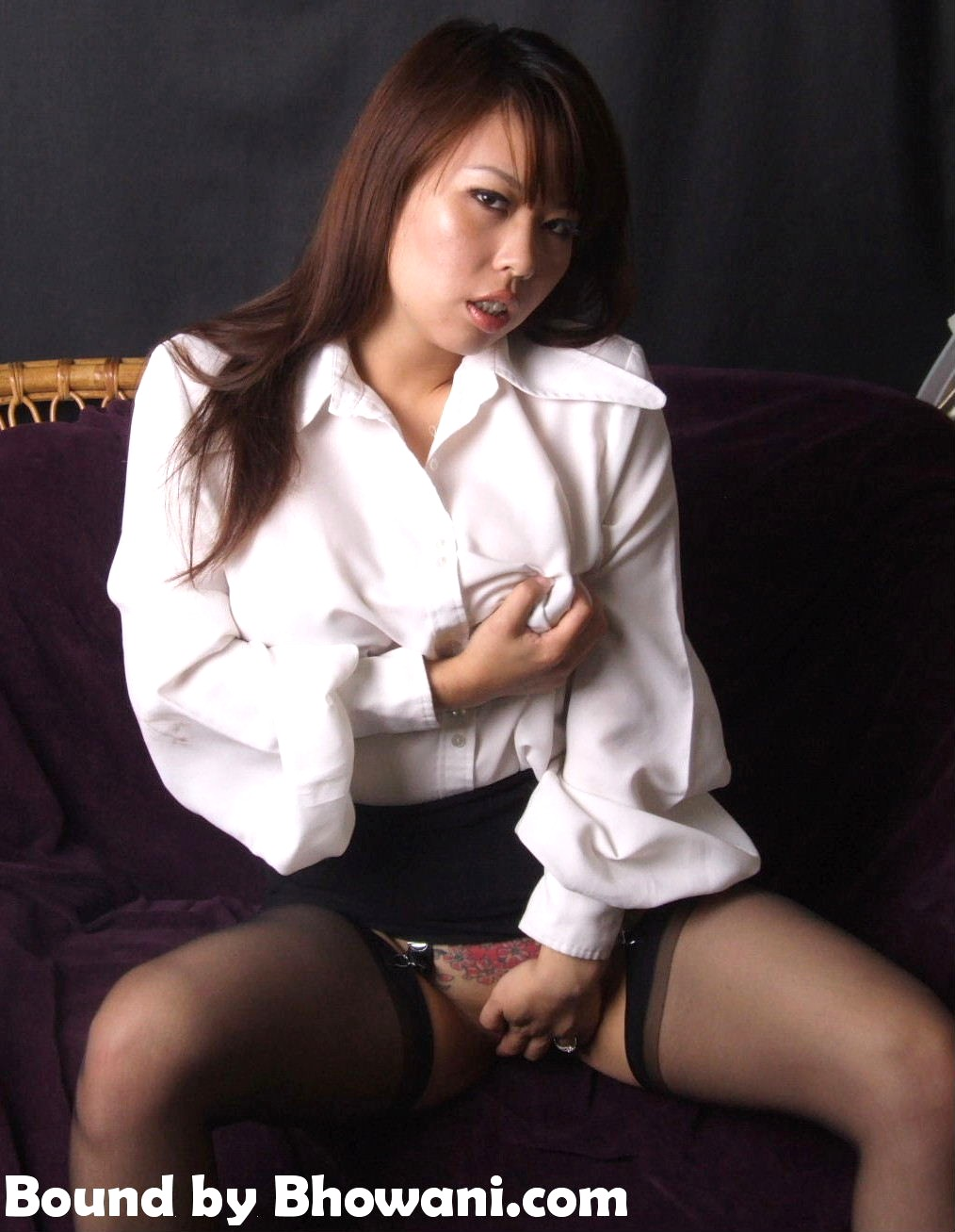 Of Blouses, Blindfolds and Blowjobs 1