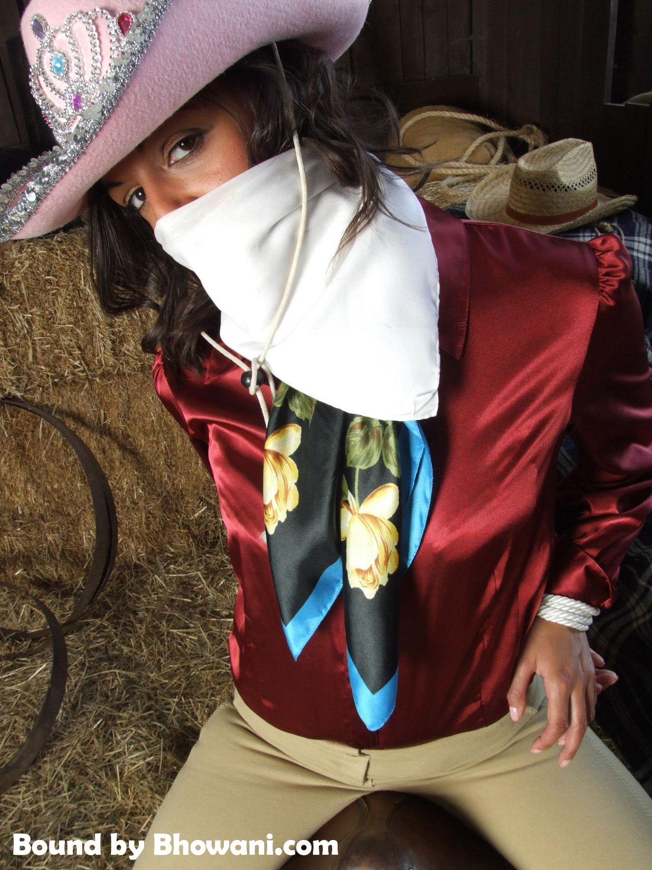 Satin Cowgirl Fifi 1