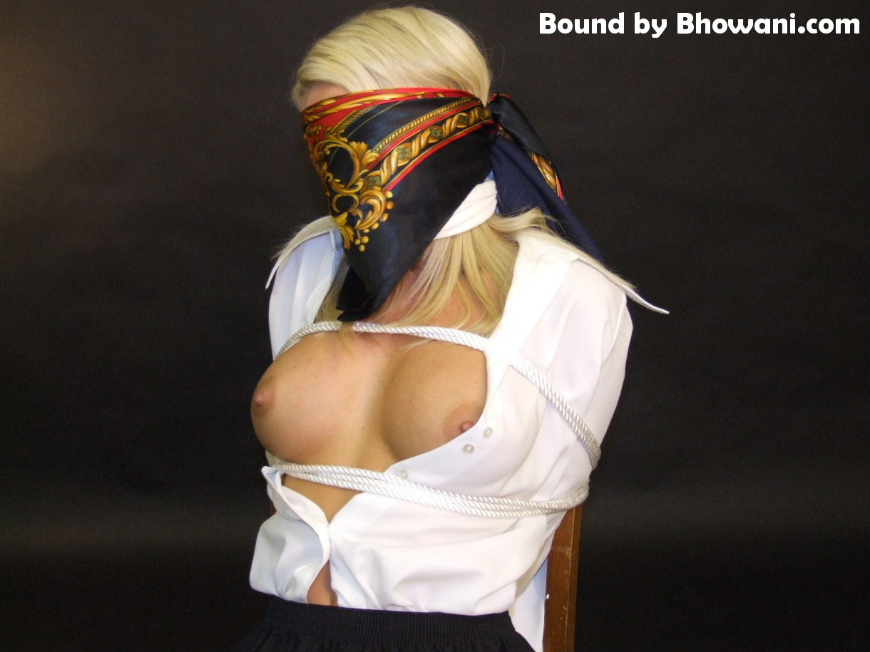 Bound, Blindfolded and Bared