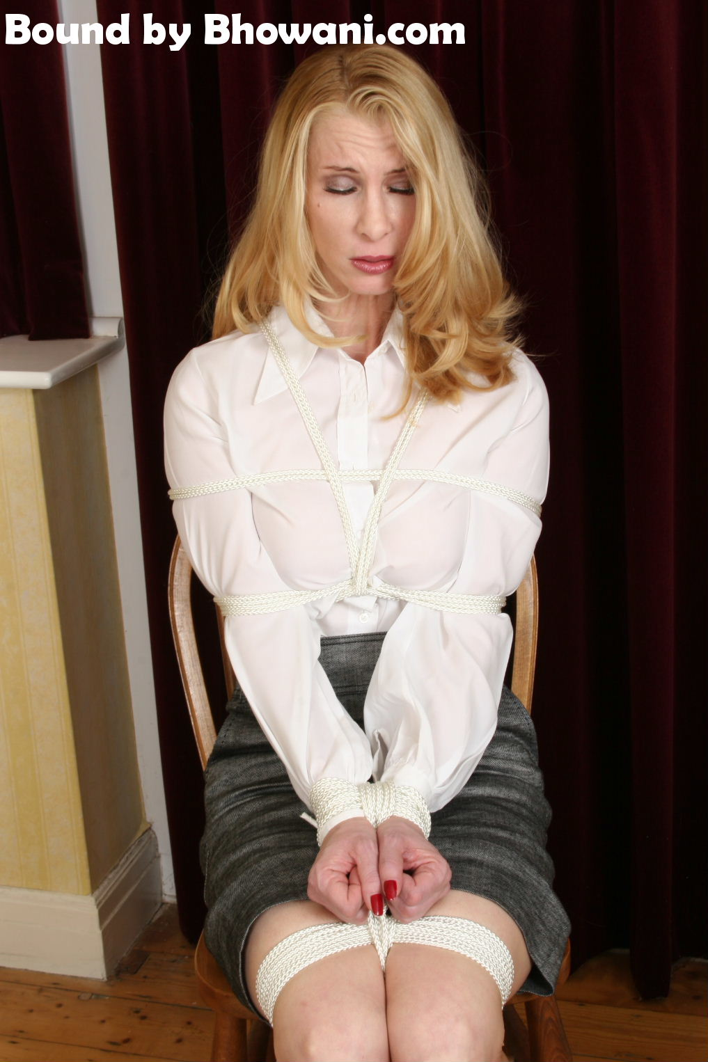 Tied Up Secretary 2