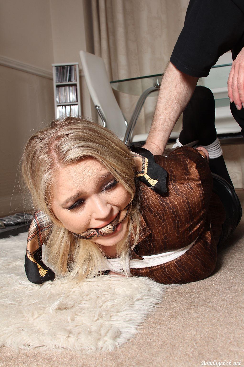 Jade Samantha in bondage.