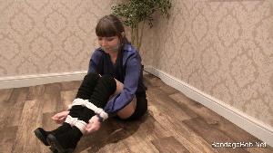 Bethany Blake in bondage.