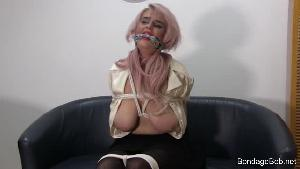 Chanell in bondage.