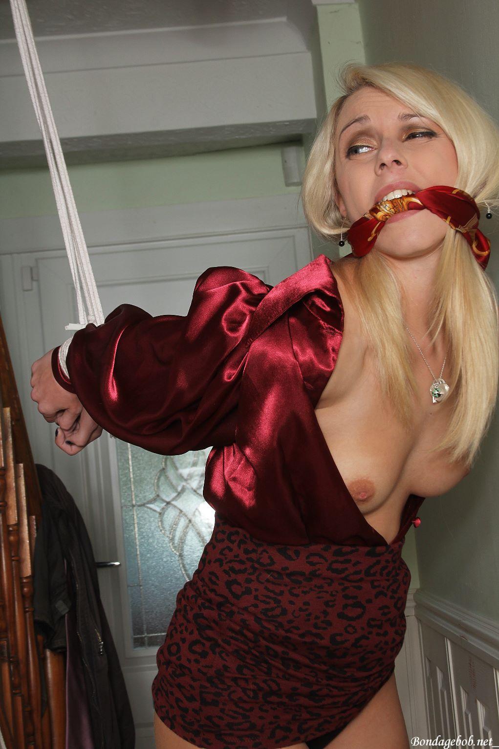 Chloe Toy & Temptress Kate in bondage.