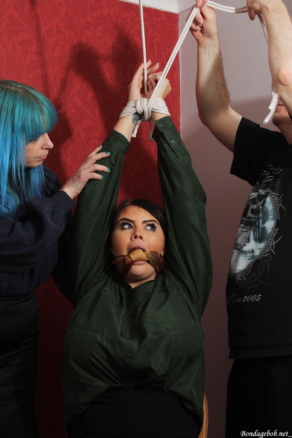 Temptress Kate & Terri Lou in bondage.