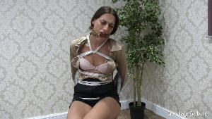 Penelope in bondage.