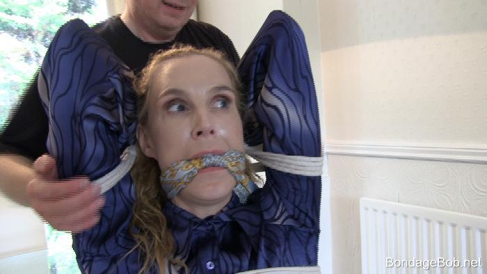 Ariel Anderssen in bondage.