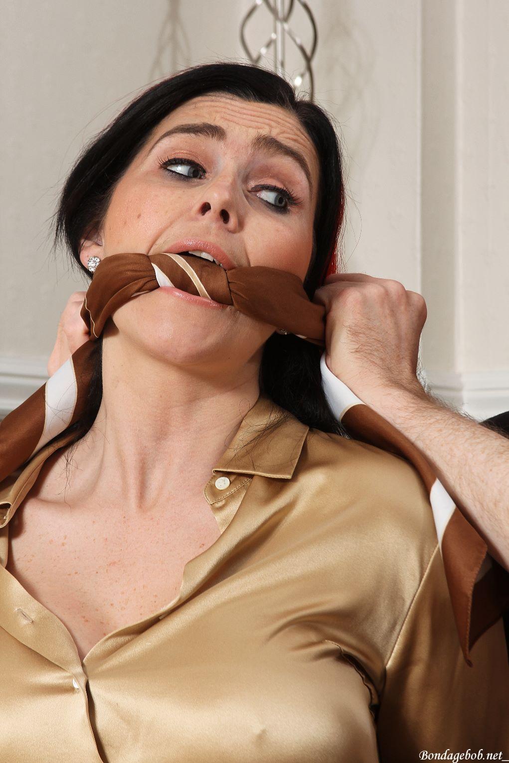Roxi Keogh in bondage.