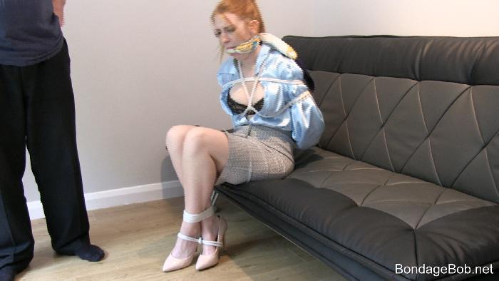 Alexa Edwards in bondage.