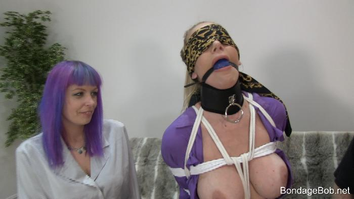 Danielle Maye & Temptress Kate in bondage.