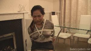 Amy Latina in bondage.