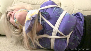 Ashleigh in bondage.