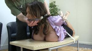 Katie Thornton & Temptress Kate in bondage.