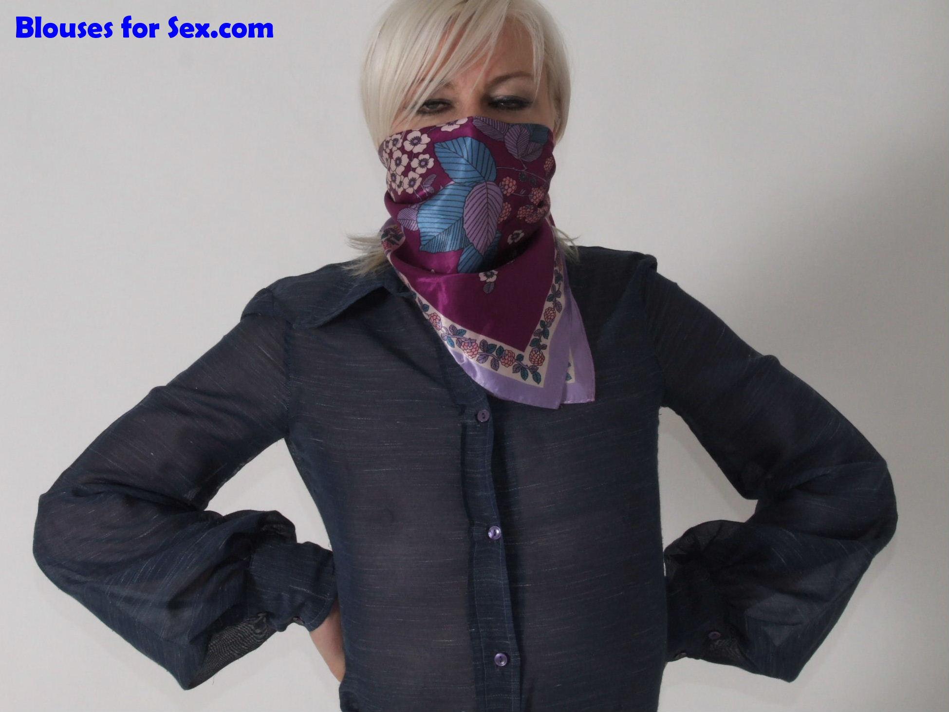 Masked in Blue