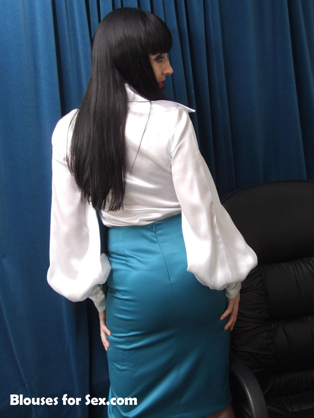 Satin and Stockings 1