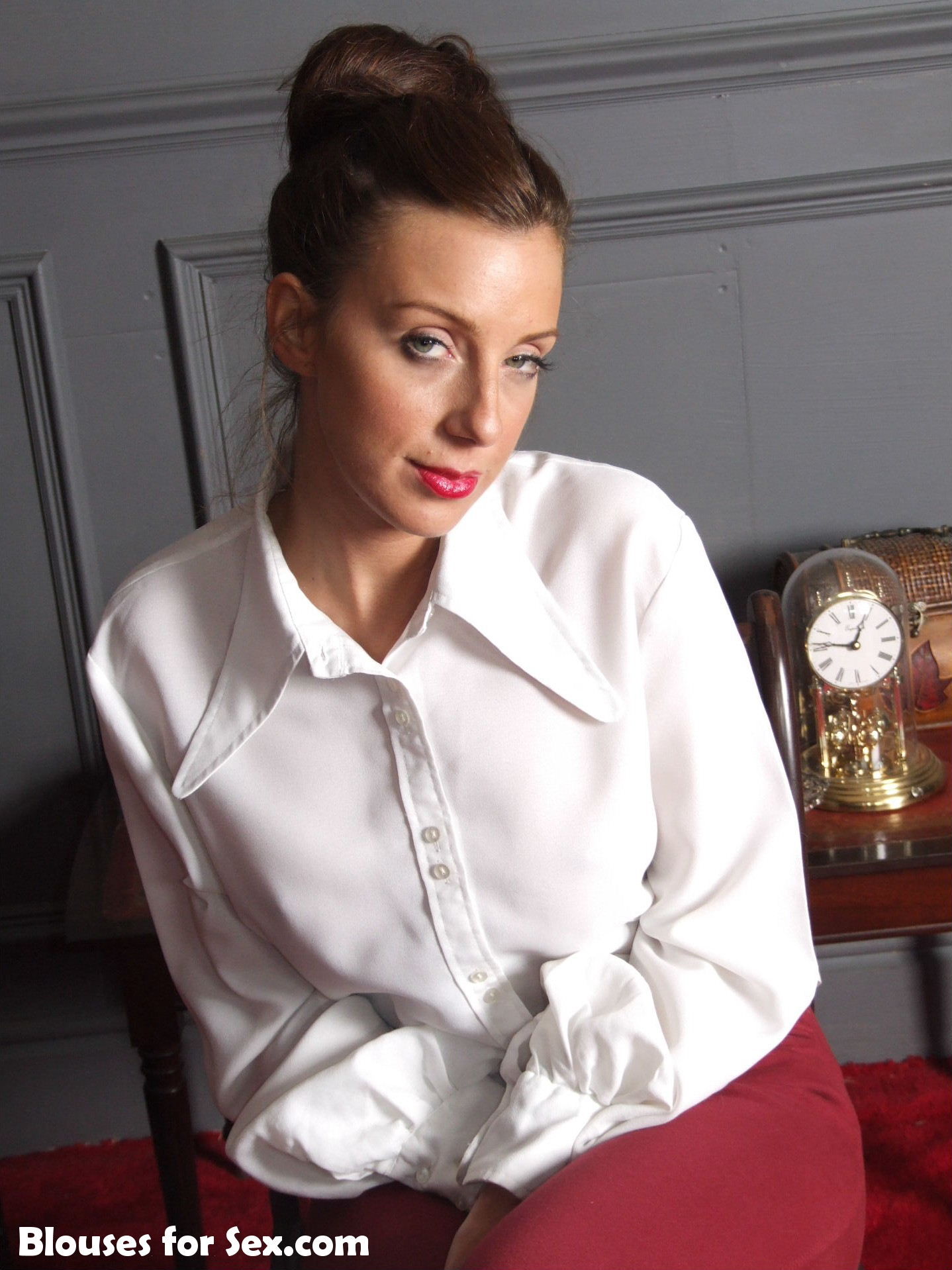 White Blouse and Breeches