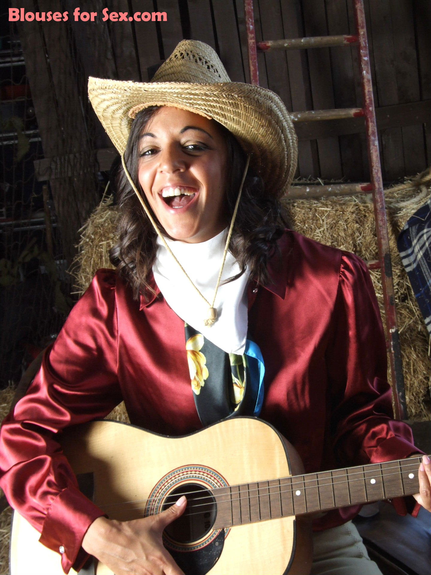 The Singing Satin Cowgirl