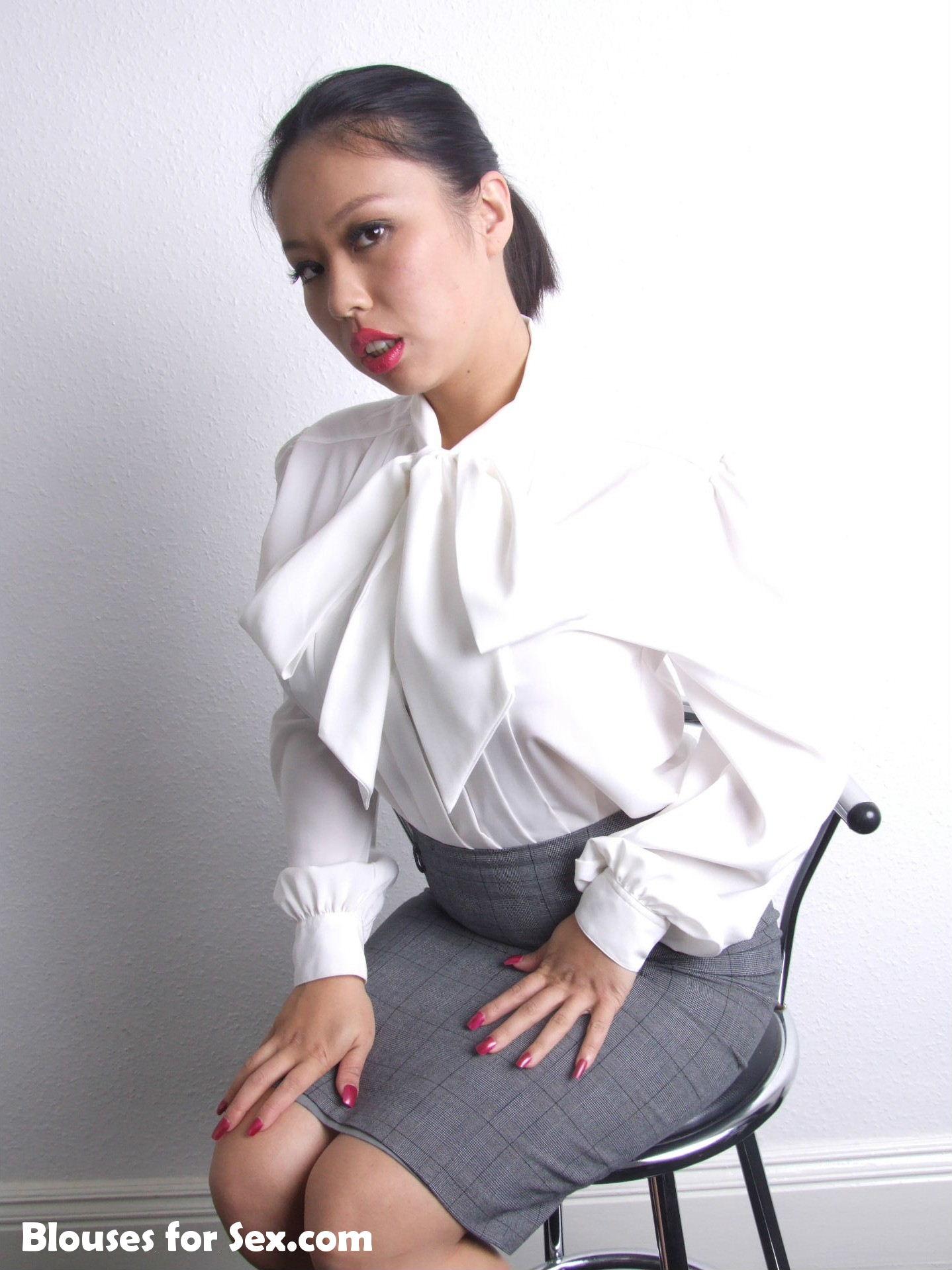 Sexy Asian Secretary