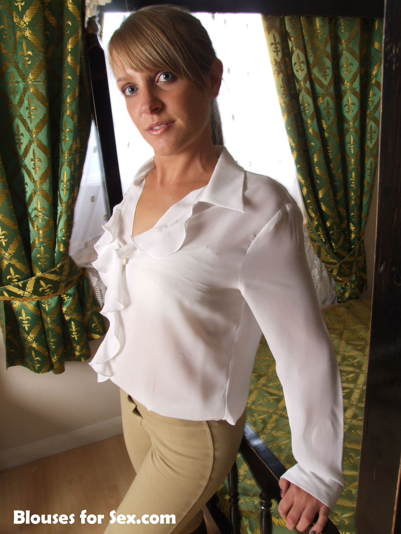Blouse Focus: Frills and Ruffles