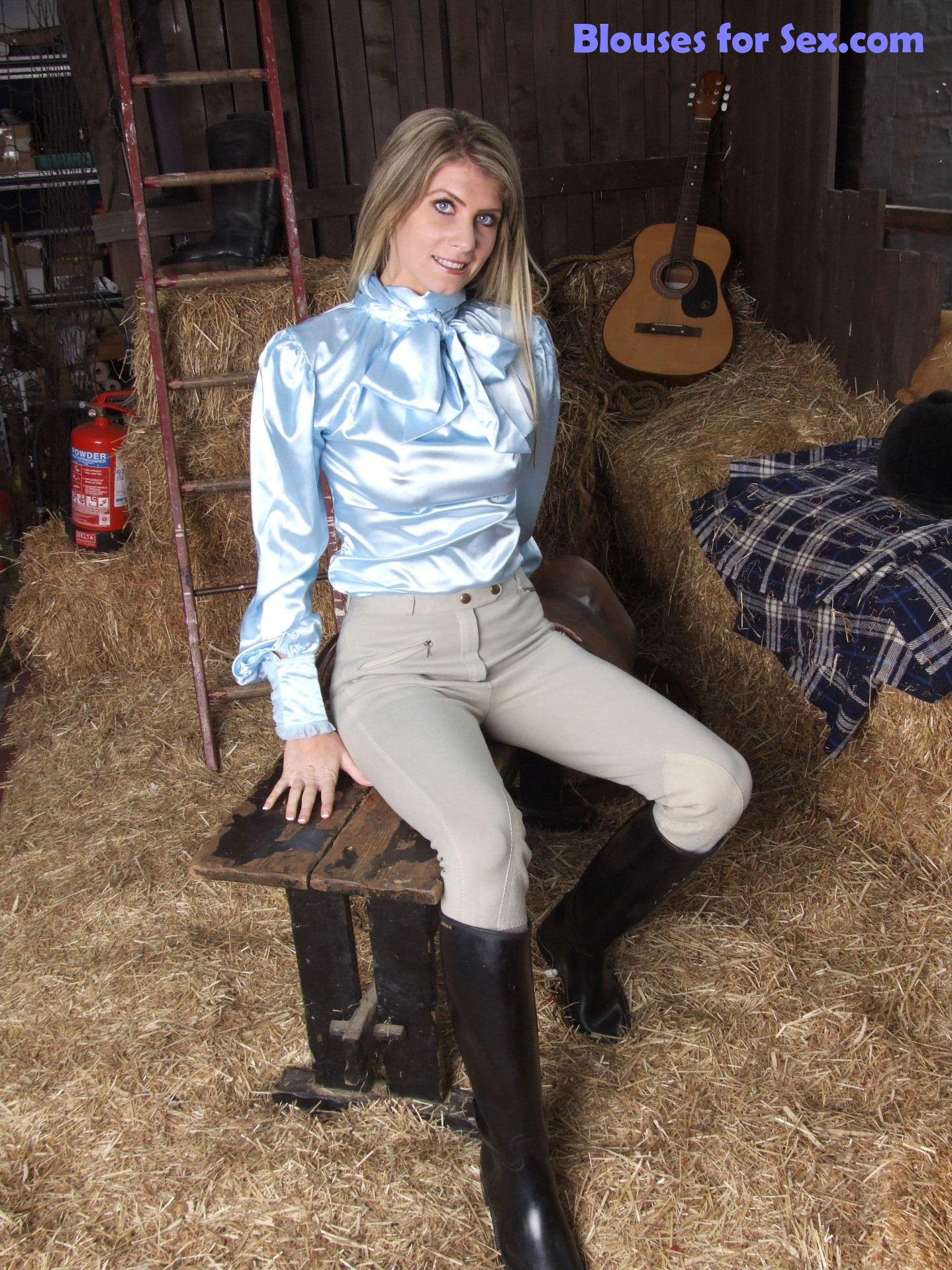 Horsegirl in Satin