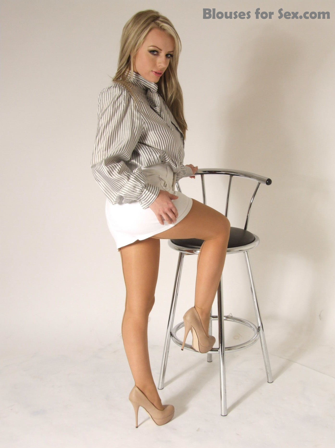Blouse and Pantyhose